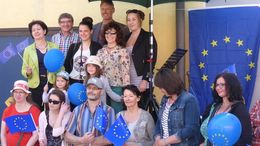 Pulse of Europe in Kaufbeuren